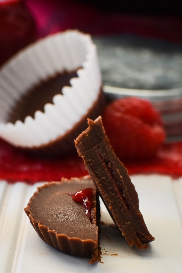 21 Day Fix Raspberry-Filled Chocolates