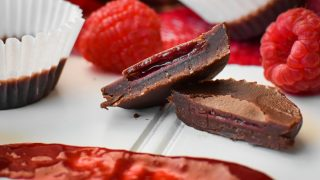 21 Day Fix Raspberry-Filled Chocolates