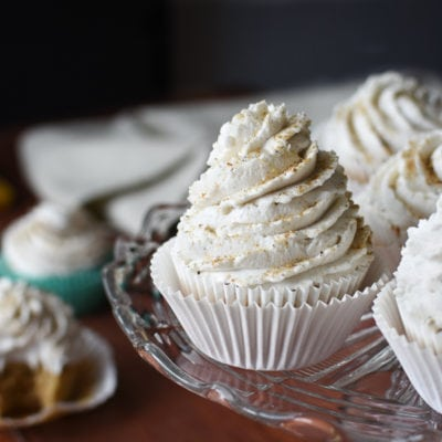 21 Day Fix Banana Cupcakes with Whipped Cardamom-Coconut Cream Frosting