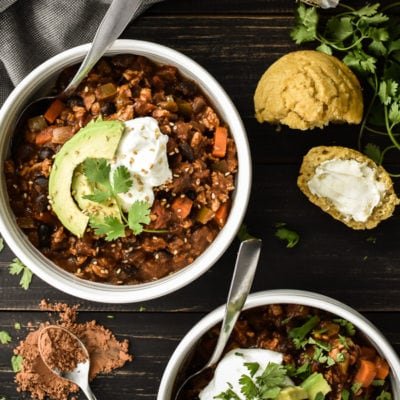21 Day Fix Mole Chicken Chili