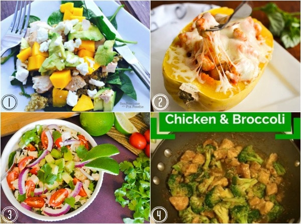 24 Delicious Ways to use Prepped or Leftover Chicken for the 21 Day Fix