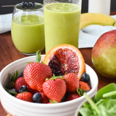How To Make The Perfect Green Smoothie (In Any Blender)!