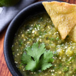 21 Day Fix Homemade Roasted Salsa Verde