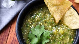 21 Day Fix Homemade Roasted Salsa Verde