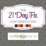 The Ultimate 21 Day Fix Container Guide (Plus A Free Printable!) | Ultimate Portion Fix Container Guide