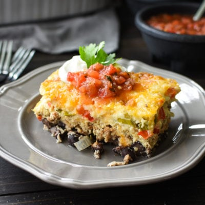 21 Day Fix Make-Ahead Southwestern Breakfast Casserole