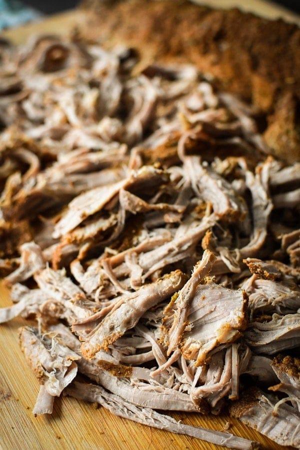 Slow-Cooker 21 Day Fix Southwestern Pulled Pork Tenderloin