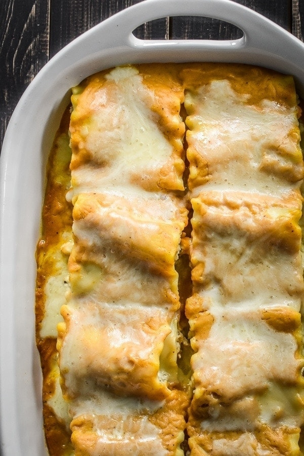 21 Day Fix Pumpkin and Sausage Lasagna Rolls