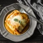 Pumpkin and Sausage Lasagna Rolls {21 Day Fix}