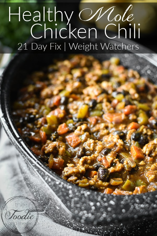 21 Day Fix Mole Chicken Chili Graphic