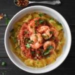 Instant Pot Shrimp and Spaghetti Squash Fra Diavolo {21 Day Fix}