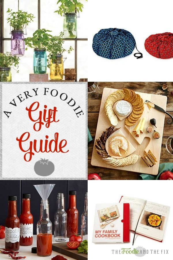A Very Foodie Gift Guide | Top 15 Gifts for your favorite foodies! Perfect for Christmas, birthdays or any holiday!