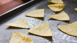 How to Make Easy, Healthy Air Fryer Tortilla Chips (and 10 Delicious 21 Day Fix Dip Ideas to Dip 'em in!)