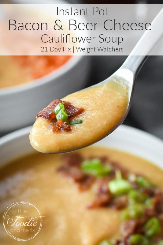 Bacon and Beer Cheese Soup Graphic