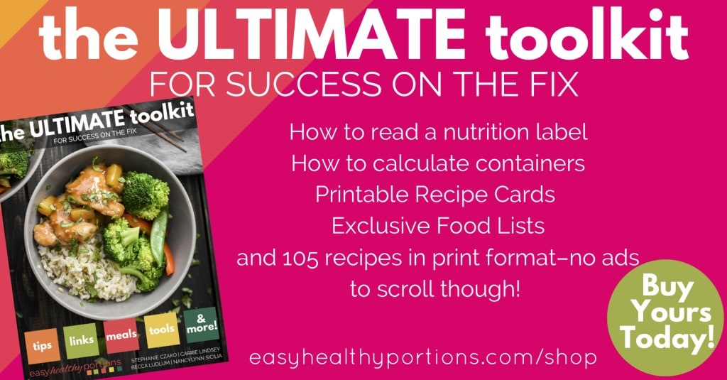 The Ultimate Toolkit for success on the 21 Day Fix! It has tons of recipes, printables, meal planning tips, how to read a nutrition label, food lists, frequently asked questions and SO MUCH MORE! #21dayfix #mealplanning #healthy #healthyrecipes #healthycookbook #beachbody