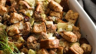 Sausage, Fennel and Cranberry Stuffing