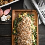 Crispy Crumb-Topped Instant Pot Green Beans and Artichokes