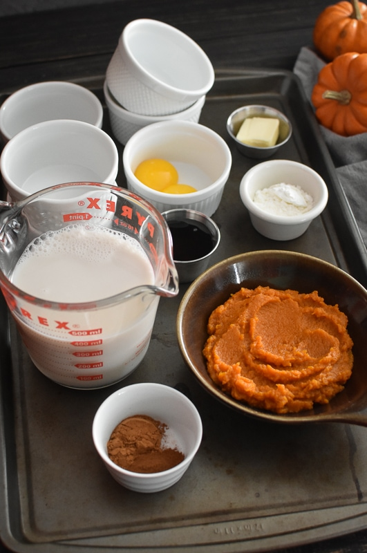 This 21 Day Fix Pumpkin Pudding tastes just like pumpkin pie but comes together in a flash. It's the perfect quick and easy fall dessert! Gluten free. #glutenfree #healthy #healthydessert #healthytreat #snack #healthysnack #dessert #kidfriendly #pumpkin #fall #fallfood #thanksgiving #21dayfix #2bmindset #portionfix