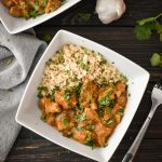 21 Day Fix Instant Pot Chicken Tikka Masala (Includes Stovetop Instructions)