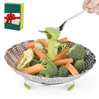Stainless Steel Vegetable/Veggie Steamer Basket