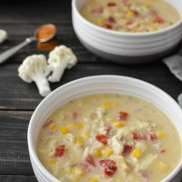 Healthy Instant Pot Crab and Corn Chowder