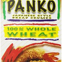 Kikkoman Japanese Style Whole Wheat Panko Bread Crumbs 8 ounce Resealable Package
