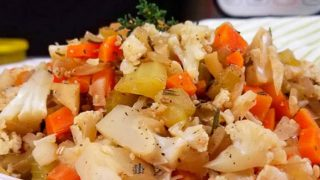 Quick and Simple Cauliflower Stuffing Side Dish