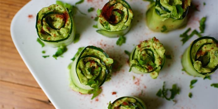 Cucumber Avocado Roll-ups Recipe
