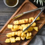 Cardamom, Vanilla and Rum-Marinated Grilled Pineapple