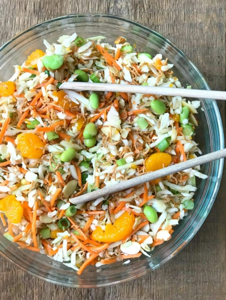 21 Day Fix Ramen Noodle Salad