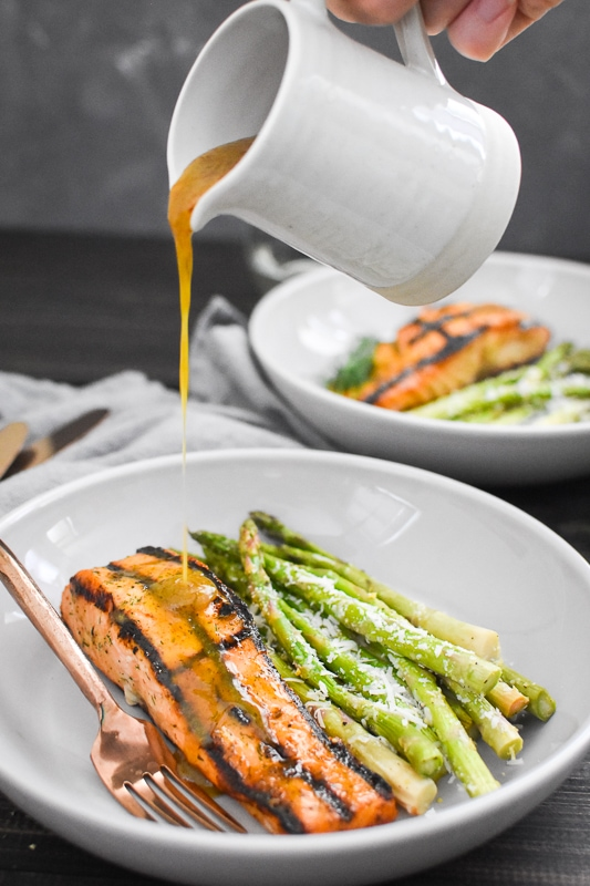 The Best Grilled Honey Mustard Salmon