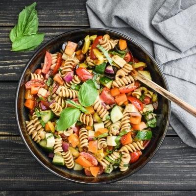 Balsamic Basil Pasta Salad