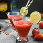 Frozen Strawberry Margarita Recipe {21 Day Fix | Weight Watchers}