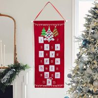 Red Christmas Advent Calendar