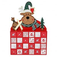 Sunnyglade Christmas Wooden Advent Calendar