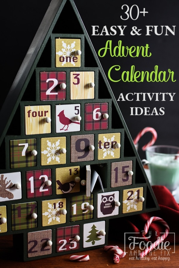 How to Plan an Activity Advent Calendar | Advent Calendar Activity Ideas