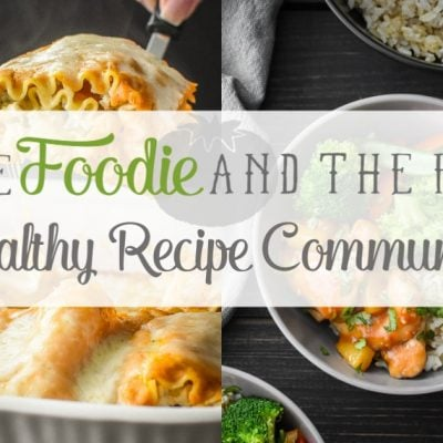Join The Foodie and The Fix Facebook Community!