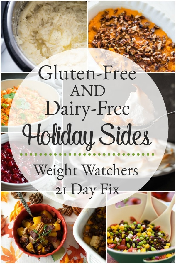 Gluten-Free and Dairy-Free Holiday Side Dish Recipes