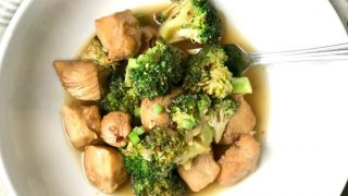 Instant Pot Chicken and Broccoli (21 Day Fix)