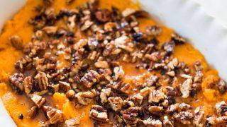 Healthy Sweet Potato Casserole [21 Day Fix