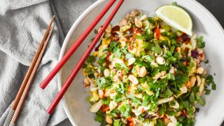 Pad Thai Egg Roll In A Bowl {Instant Pot | Stove Top}