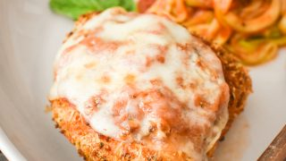 Healthy Chicken Parmesan {Air Fryer | Oven}