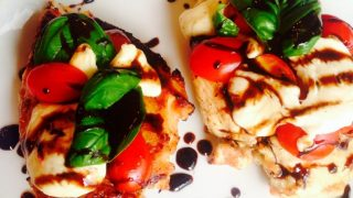 Easy Caprese Chicken {21 Day Fix}