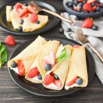 Easy Whole Wheat Blender Crepes