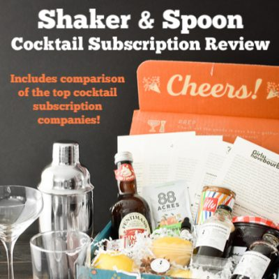 Shaker & Spoon Review | The Best Cocktail Subscriptions