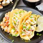 Chipotle Fish Tacos with Mango Salsa {Air Fryer/Oven/Stovetop}