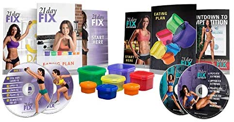 all of the materials that come with the 21 Day Fix program