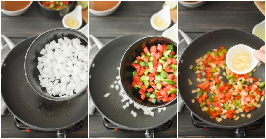 Enchiladas step-by-step instructions
