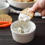 Healthy Dill Pickle Dip | 21 Day Fix Dill Pickle Dip