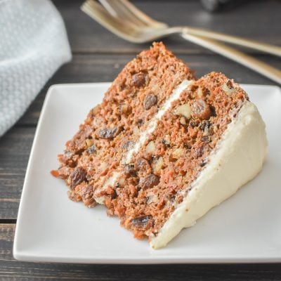 21 Day Fix Carrot Cake {Refined Sugar Free | Weight Watchers}